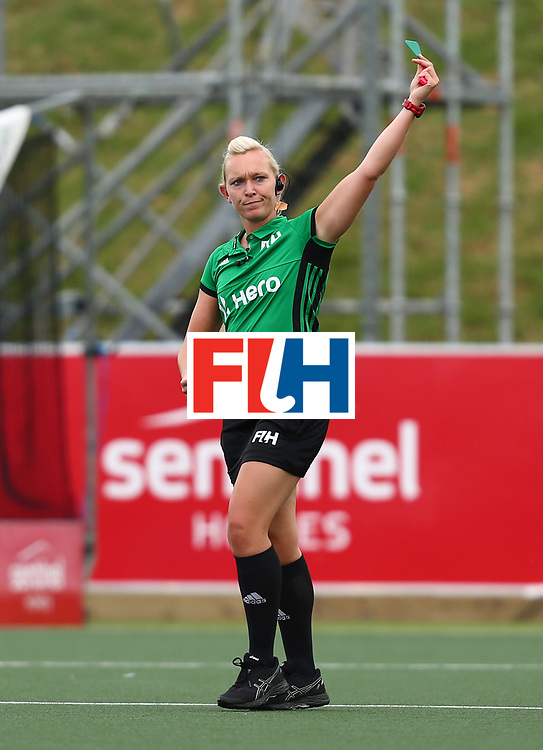 New Zealand, Auckland - 20/11/17  <br /> Sentinel Homes Women&rsquo;s Hockey World League Final<br /> Harbour Hockey Stadium<br /> Copyrigth: Worldsportpics, Rodrigo Jaramillo<br /> Match ID: 10299 - NED vs KOR<br /> Photo: