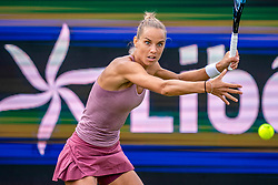 13-06-2019 NED: Libema Open, Rosmalen Grass Court Tennis Championships / Kiki Bertens vs. Arantxa Rus (photo) in second round.