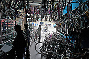 Bicycle Store on the Alameda El Porvenir bike line - Bogota - Colombia - Bogota -Colombia