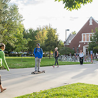 Campus Scenes, fall, Carrie Quinney photo