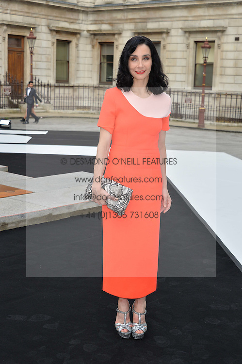 TAMARA ROJO at the Royal Academy of Arts Summer Exhibition Preview Party at The Royal Academy of Arts, Burlington House, Piccadilly, London on 7th June 2016.