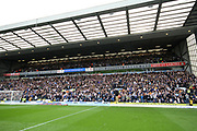 Leeds United fans during the EFL Sky Bet Championship match between Blackburn Rovers and Leeds United at Ewood Park, Blackburn, England on 20 October 2018.