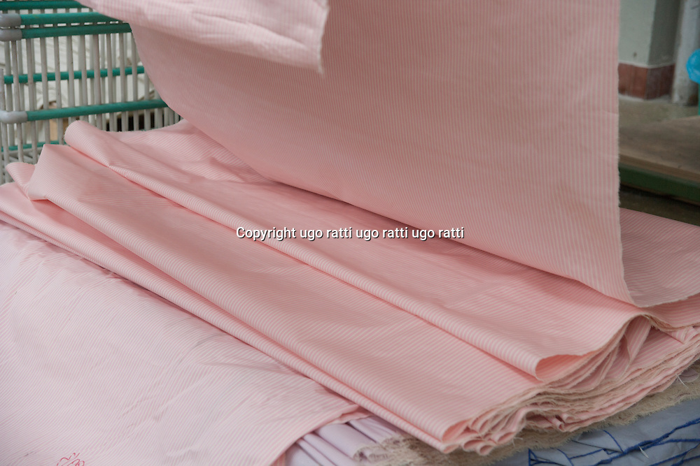 Italy, textile industry, high fashion fabrics for shirts Italy, textile industry, high fashion fabrics for shirts