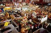 16 JANUARY 2002, GUANAJUATO, GUANAJUATO, MEXICO:  Overview of the interior of Mercado Hidalgo, opened in 1910, in the city of Gunajuato, state of Guanajuato, Mexico, Jan. 16, 2002. Mercado Hidalgo is the main market for Guanajuato..PHOTO BY JACK KURTZ