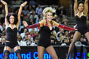 March 29, 2010; Cleveland, OH, USA; The Cleveland Cavaliers cheerleaders during the second quarter against the Miami Heat at Quicken Loans Arena. Mandatory Credit: Jason Miller-US PRESSWIRE