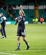 Thumbs up from Dundee&rsquo;s Cammy Kerr at full time - Celtic v Dundee - Ladbrokes Scottish Premiership at Dens Park<br /> <br />  - &copy; David Young - www.davidyoungphoto.co.uk - email: davidyoungphoto@gmail.com