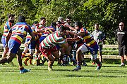 Premier Reserve  grade Rugby union match between Tawa v HOBU  at Lyndhurst Park, Tawa, Wellington, New Zealand on 16 July 2016. Game won 34-24 by HOBM.