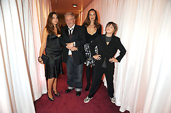 Photographer DAVID BAILEY with his wife CATHERINE and their children at the GQ Men of the Year Awards held at the Royal Opera House, London on 2nd September 2008.<br /> <br /> NON EXCLUSIVE - WORLD RIGHTS