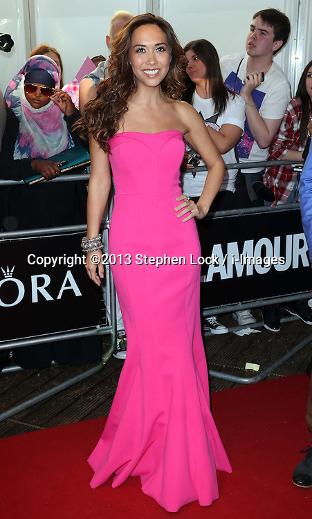 Myleene Klass  arriving at the Glamour Woman of the Year Awards in London, Tuesday, 4th June 2013<br /> Picture by Stephen Lock / i-Images