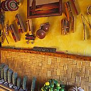 Wall in market. Loreto, Baja California Sur. Mexico