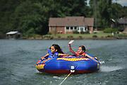 Tubing on Lake Norman of North Carolina