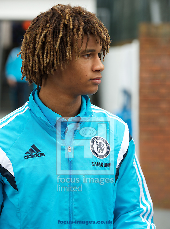 Nathan Ak&eacute; of Chelsea arriving for the Barclays Premier League match at Selhurst Park, London<br /> Picture by Alan Stanford/Focus Images Ltd +44 7915 056117<br /> 18/10/2014