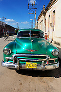 Old Chevrolet in Guines, Mayabeque Province, Cuba.