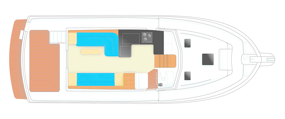 grand banks yacht deck accommodation plan