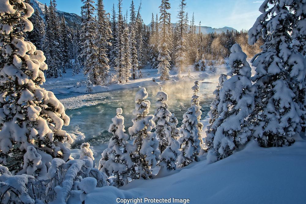 Bow River., Alberta, canada, Isobel Springett