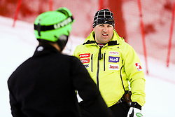 Mitja Kunc, coach  of Slovenia prior to the Men's Slalom - Pokal Vitranc 2014 of FIS Alpine Ski World Cup 2013/2014, on March 9, 2014 in Vitranc, Kranjska Gora, Slovenia. Photo by Matic Klansek Velej / Sportida
