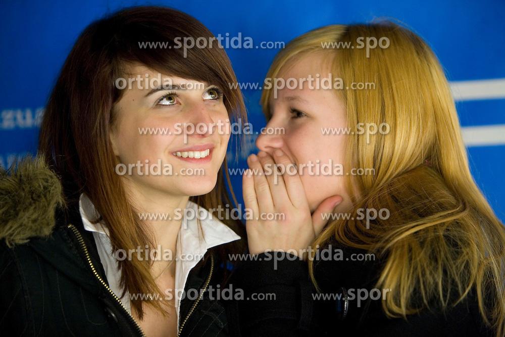 Teenagers. (Photo by Vid Ponikvar / Sportal Images)