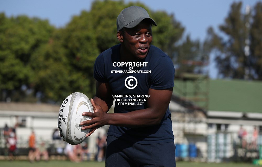 Inny Radebe during The Cell C Shark 21's and Leopards  21's Currie Cup at Growthpoint Kings Park KP2 in Durban, South Africa. 8th September  2017 (Photo by ( Steve Haag Sports)