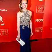 NLD/Amsterdam/20171219 - Inloop NOC/NSF Sportgala 2017, wielrenster Anna van der Breggen