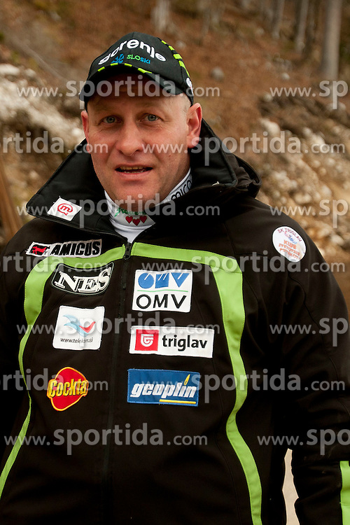 Goran Janus, head coach of Slovenia before Flying Hill Individual competition at 4th day of FIS Ski Jumping World Cup Finals Planica 2012, on March 18, 2012, Planica, Slovenia. (Photo by Urban Urbanc / Sportida.com)