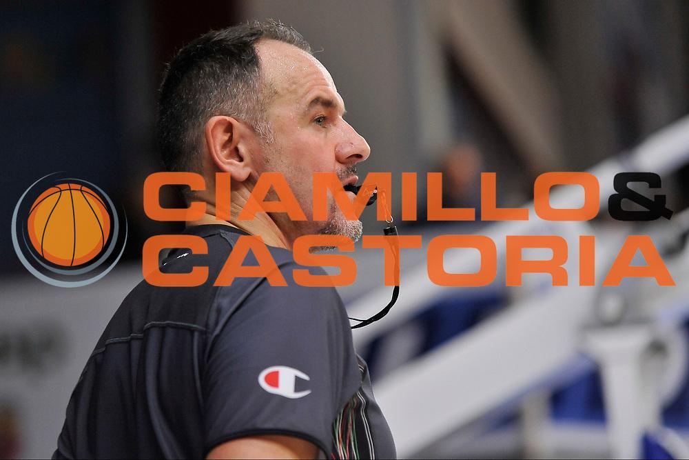 Maurizio Biggi<br /> Banco di Sardegna Dinamo Sassari - Vanoli Cremona<br /> LegaBasket Serie A LBA Poste Mobile 2016/2017<br /> Sassari 26/11/2016<br /> Foto Ciamillo-Castoria