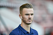 Leicester City Midfielder, James Maddison (10) during the Premier League match between Bournemouth and Leicester City at the Vitality Stadium, Bournemouth, England on 15 September 2018.