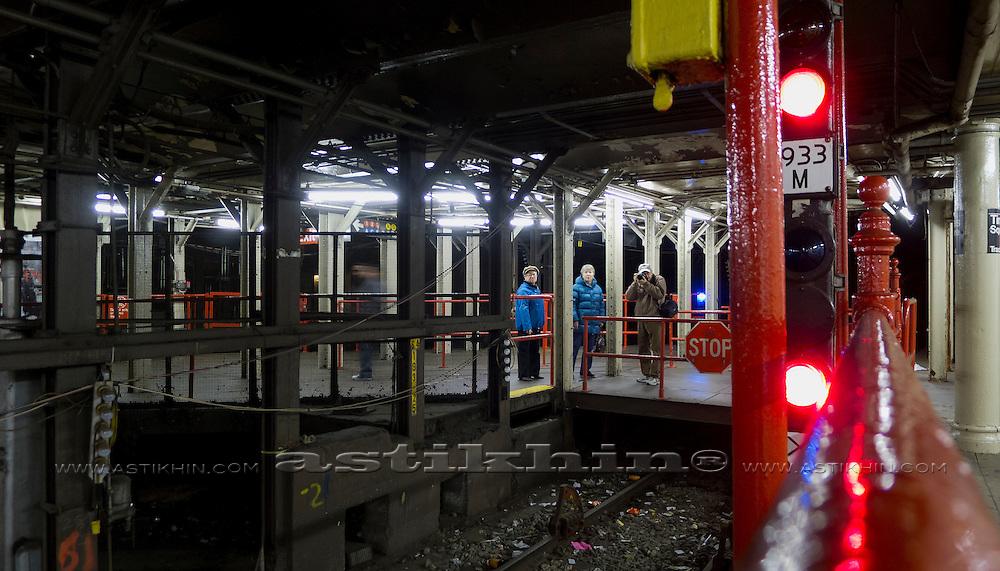 Inside MTA, Manhattan.