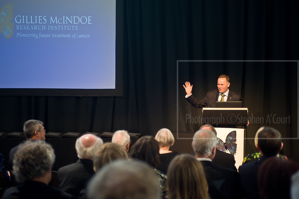 Wellington, NZ. 03.12.2013. Official opening of the Gillies McIndoe Research Institute, Parliament.  Photo credit: Stephen A'Court.  COPYRIGHT ©Stephen A'Court