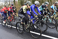 March 6, 2018 - Chatel Guyon, France - CHATEL-GUYON, FRANCE - MARCH 6 : TRENTIN Matteo  (ITA)  of Mitchelton - Scott in action during stage 3 of the 2018 Paris - Nice cycling race from Bourges to Chatel-Guyon (210km) on March 06, 2018 in Chatel-Guyon, France, 6/03/2018 (Credit Image: © Panoramic via ZUMA Press)