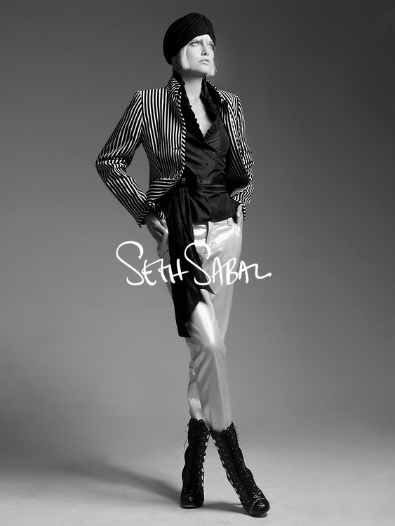 Eugenia Kuzmina - Seth Sabal Studio Photoshoot