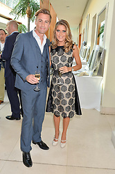 GEMMA OATEN and MATT EVERS at the Ben Cohen Stand Up Foundation Gala evening at The Hurlingham Club, Ranelagh Gardens, London on 21st May 2015.