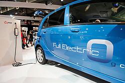 Peugeot ION electric car at Parisgg Motor Show 2010