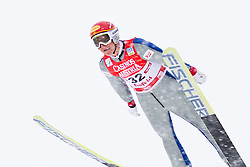 17.12.2011, Casino Arena, Seefeld, AUT, FIS Nordische Kombination, Probedurchgang, Ski Springen, im Bild David Kreiner (AUT) // David Kreiner of Austria during the trial round ski jumping at FIS Nordic Combined World Cup in Sefeld, Austria on 20111211. EXPA Pictures © 2011, PhotoCredit: EXPA/ P.Rinderer