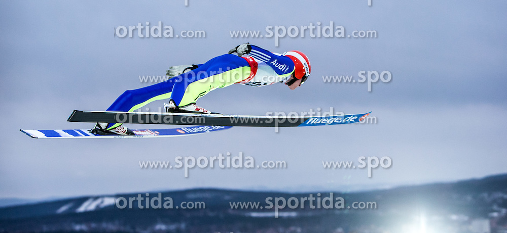 26.02.2015, Lugnet Ski Stadium, Falun, SWE, FIS Weltmeisterschaften Ski Nordisch, Skisprung, Herren, Finale, im Bild Richard Freitag (GER) // Richard Freitag of Germany during the Mens Skijumping Final of the FIS Nordic Ski World Championships 2015 at the Lugnet Ski Stadium, Falun, Sweden on 2015/02/26. EXPA Pictures © 2015, PhotoCredit: EXPA/ JFK
