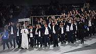 Abu Dhabi, United Arab Emirates - 2019 March 14: Opening Ceremony of Special Olympics World Games Abu Dhabi 2019 on March 14, 2019 in Abu Dhabi, United Arab Emirates. (Mandatory Credit: Photo by (c) Adam Nurkiewicz)