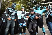 January 3, 2016: Carolina Panthers vs Tampa Bay Buccaneers. Carolina Panthers fans