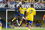 *** during the Pre-Season Friendly match between Southend United and Leeds United at Roots Hall, Southend, England on 22 July 2018. Picture by Stephen Wright.