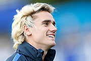 Antoine Griezmann during the training of the team of France before the FIFA World Cup qualifying football match between Bulgaria and France, on October 2, 2017 in Clairfontaine, France - Photo Benjamin Cremel / ProSportsImages / DPPI