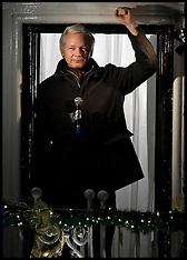 Dec 20 2012-Julian Assange 6 months in Ecuadorian Embassy