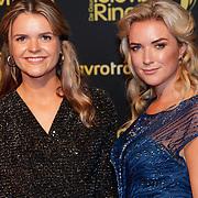 NLD/Amsterdam/20181011 - Televizier Gala 2018, Laurien Vertraten en zusje