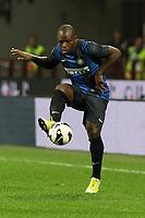 "Gabi Mudingayi Inter<br /> Milano 30/09/2012 Stadio ""San Siro""<br /> Football Calcio Serie A 2012/13<br /> Inter v Fiorentina<br /> Foto Insidefoto Paolo Nucci"