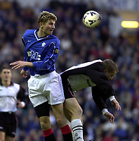 Rangers v  Motherwell, Scottish Premier Division.<br />