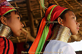 Karen Paduang Long Neck and Big Ear Refugees From Burma
