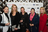 13/11/2015 Repro free  Orla Keeler-McDonagh, Karen Sheridan, Sandra Tymonall from Knocknacarra and Sheila Joyce Moycullen and Stacy McDonnell Knocknacarra at Galway Glamour  by Galway Shopping Centre at the g Hotel hosted by Sile Seoige  <br /> Photo:Andrew Downes, xposure.