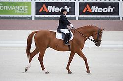 Ana Isabel Mota Veiga, (POR), Vento Da Devesa - Team Competition Grade Ia Para Dressage - Alltech FEI World Equestrian Games™ 2014 - Normandy, France.<br /> © Hippo Foto Team - Jon Stroud <br /> 25/06/14