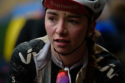 Liane Lippert after Strade Bianche - Elite Women 2018 - a 136 km road race on March 3, 2018, starting and finishing in Siena, Italy. (Photo by Sean Robinson/Velofocus.com)
