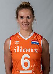 10-05-2018 NED: Team shoot Dutch volleyball team women, Arnhem<br /> Maret Balkestein-Grothues #6 of Netherlands