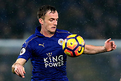 Andy King of Leicester City controls the ball on his chest - Mandatory by-line: Robbie Stephenson/JMP - 10/12/2016 - FOOTBALL - King Power Stadium - Leicester, England - Leicester City v Manchester City - Premier League