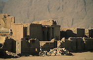 Afghanistan. Kandahar. The bazar destroyed during the war  Kandahar/ /  kabouli bazar detruit par la guerre  Kandahar/   Afghanistan ,