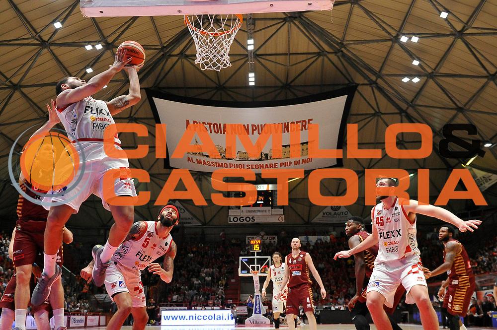 Okereafor Teddy<br /> The Flexx Pistoia Basket - Umana Reyer Venezia<br /> Lega Basket Serie A 2016/17<br /> Pistoia, 17/05/2017<br /> Foto Ciamillo-Castoria